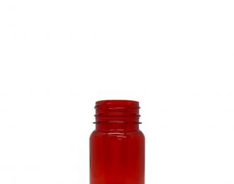 Embalagem pet Redonda para Capsulas e Suplementos– 80ml – Bocal 38mm – REF.F033