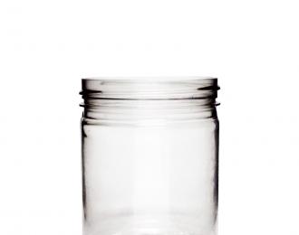 Embalagem pet Redonda para Potes – 180ml – Bocal 63mm – REF.F034