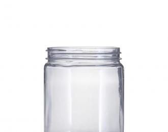 Embalagem pet Redonda para Potes – 220ml – Bocal 63mm – REF.F035