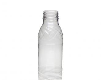 Embalagem pet Redonda para Bebidas – 390ml – Bocal 38mm – REF. F118B