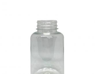 Embalagem pet Redonda para Capsulas e Suplementos– 230ml – Bocal 38mm – REF.F125A