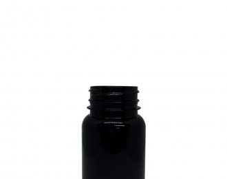 Embalagem pet Redonda para Cápsulas e Suplementos – 100ml – Bocal 38mm – REF.F129