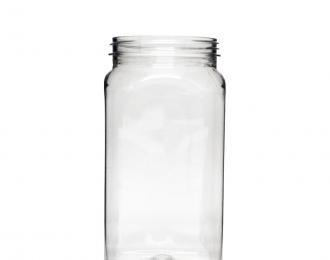 Embalagem pet Quadrada para Molhos e Temperos – 500ml – Bocal 63mm – REF. F042