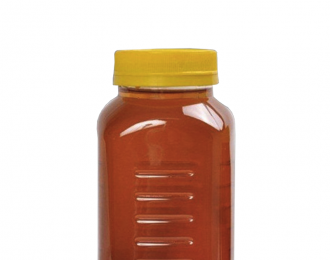 Embalagem Pet Quadrado para MEL – 720ml – Bocal 63mm – REF. F043