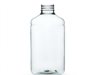 Embalagem pet Redonda para Capsulas e Suplementos – 500ml – Bocal 38mm – REF.F029B